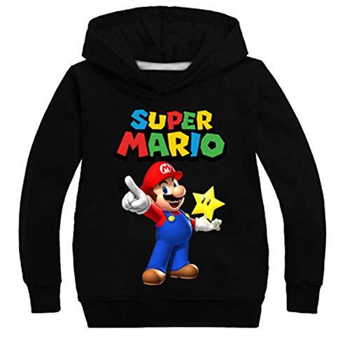Pull pour Enfants, Mode Garçons Filles Super Mario Bros...