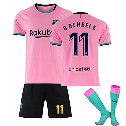 Backboards 2021 Europapokal Fußball T-Shirts,Herren Kind Damen Retro Polo Trikot,Summer Pre-Match Shirt mit Socken Rosa,11,S
