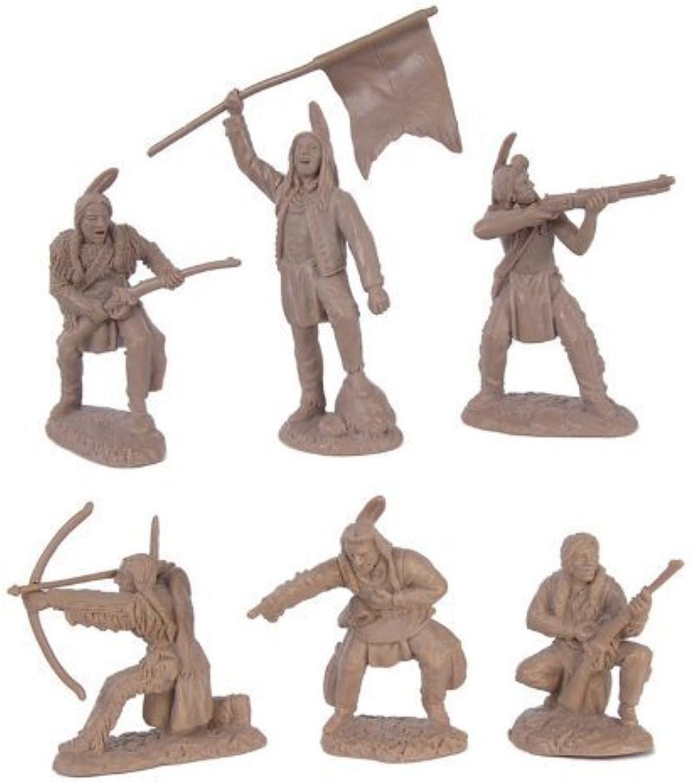 Tienda de moda y compras online. Plains Plains Plains Indian Warriors Plastic Army Men  12 piece set of 54mm Figuras - 1 32 scale by TSSD  bienvenido a elegir