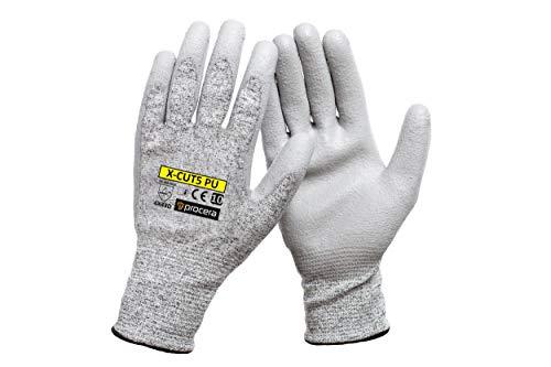 Schnittfeste Handschuhe Größe 7 8 9 10 11 X-Cut5 | 1 Paar - Schnittschutz Küche, Garten | Level 5 Schutz | Schnittschutzhandschuhe (7 S)