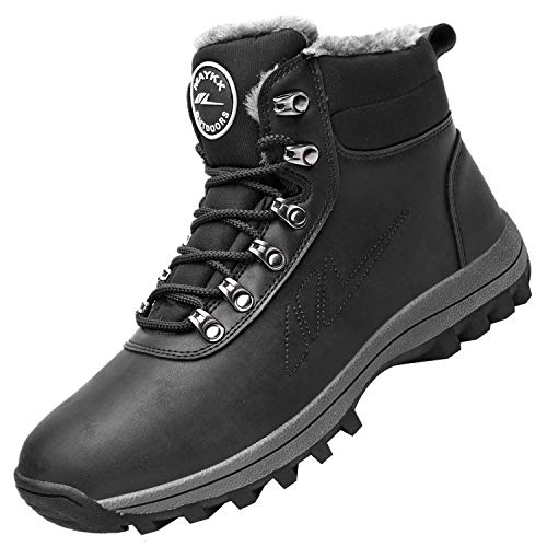 RomenSi Winter Ankle Snow Hiking Boots