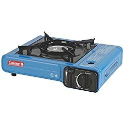 cheap Coleman portable butane stove with carry bag