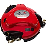 Grillbot Automatic Grill Cleaning Robot with Brass Brushes - BBQ Grill Cleaner - Grill Brush - Grill Scraper - BBQ Accessories - Red