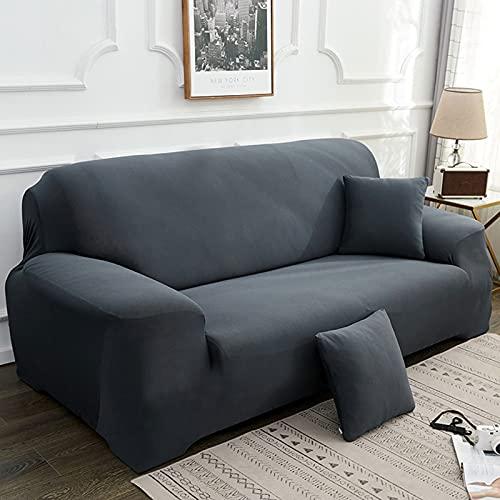 HJFGIRL Sofa Throw Elastic Sofa Throws Stretch Sofa Cover Non-Slip Couch Cover Sofa Cover Armchair Cover Furniture Protector Sofa Cover,A-140-180CM