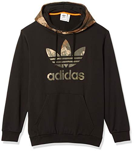 Adidas Originals Herren Camo Hoodie -  Schwarz -  Medium