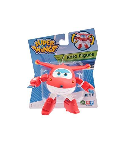Giochi Preziosi - Super Wings Personaggio Jett, Articolato Soft