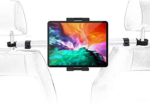 Supporto Tablet Poggiatesta Auto, woleyi Porta Tablet Sedile Posteriore Dell auto con Anti-shake rotazione di 360°, per iPad Pro 12.9 10.5 9.7 Air Mini, Samsung Tab, Nintendo Switch, iPhone 4-13