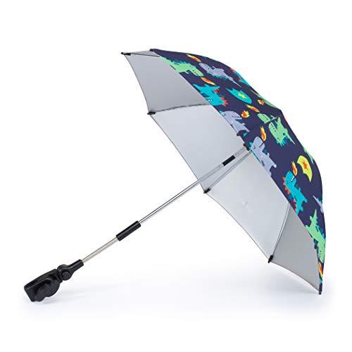 Cosatto Universal Kinderwagen & Kinderwagen Sonnenschirm - UV-Schutz 100+ Multi Fit Sonnendach Schirm Dragon Kingdom