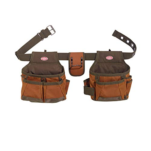 Bucket Boss - Builder's Tool Belt, Tool Belts - Original Series (50200), Brown
