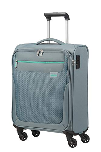 American Tourister Sunny South Luggage- Carry-On Luggage, Spinner S (55 cm - 36 L), Grau (Grey)