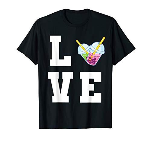 Lustig Bubble Tea Becher - Love Bubble Tea T-Shirt