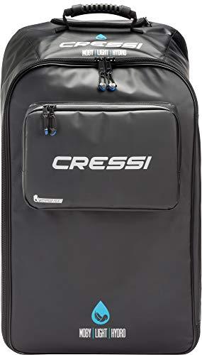 Cressi Moby Light Hydro Bag, Borsone/Trolley Impermeabile per Immersioni Unisex Adulto, Nero, 85 Lt