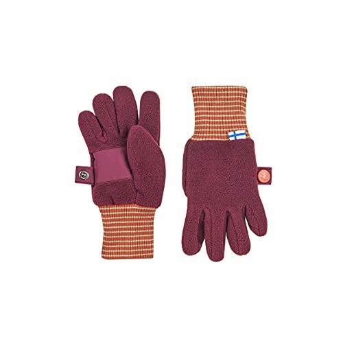 Finkid Kinder Sormikas Handschuhe, Beet red-Chili