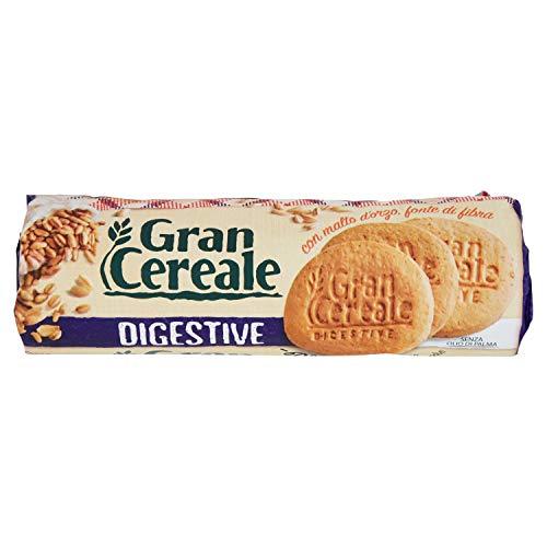 Gran Cereale Biscotti Digestive con Malto D'Orzo, Biscotti Digestivi Ricchi di Fibra e Fosforo - 250 g