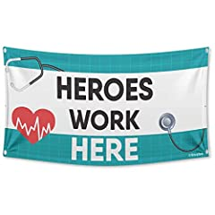 VINYL BANNER – This a banner comes with grommet-ed corners for ease of hanging. VERSATILE – Show your support for your cause with our waterproof banner. DURABLE – Our banners are made from high-grade vinyl, which makes our banners very durable, light...