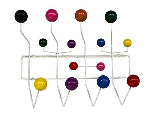Oui Home - Perchero Bolas Multicolor Estilo Eames Hang it All