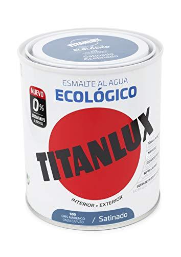 Titanlux Esmalte Ecológico Acrílico Satinado Titan 750 ml