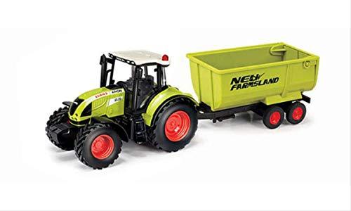 Herpa 84184015 CLAAS Arion 540 Kippanhänger Traktor/Bulldog zum Spielen und als Geschenk, Mehrfarbig