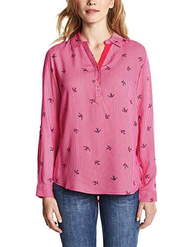 Cecil Damen 341247 Bluse, Camellia Rose, XXL