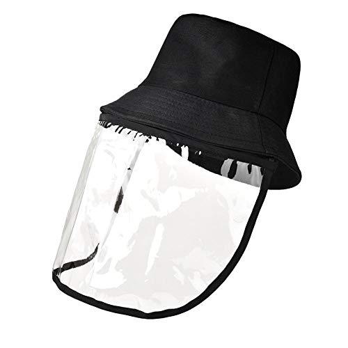 WZJAM Sombrero Antivaho Gorro Protector Gorro De Pescador De Alta Permeabilidad PVC Fácil De Transportar-A