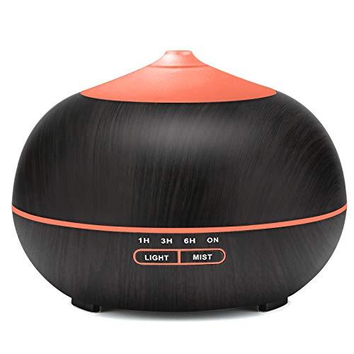 400ml Aroma Diffuser mit 7 Farben LED Lichter für zuhause, Yoga, Büro, SPA, Schlafzimmer