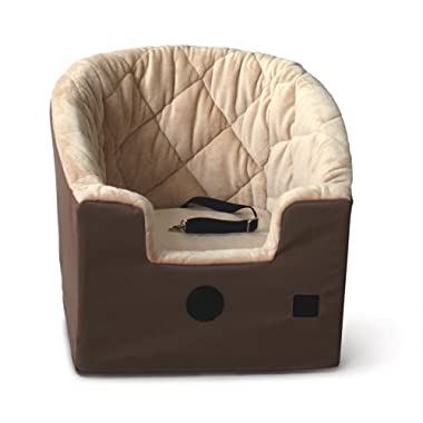 K&H Pet Products Bucket Booster Pet Seat Large Tan 14.5  x 24