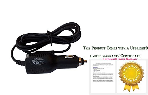 """UpBright NEW Car DC Adapter For RCA DHT235C DHT235 3.5"""" LED LCD Television Digital TV Auto Vehicle Boat RV Cigarette Lighter Plug Power Supply Cord Cable Battery Charger PSU"""