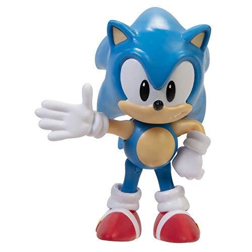 Sonic The Hedgehog Figura de acción 2.5 Pulgadas Classic Sonic Juguete Coleccionable