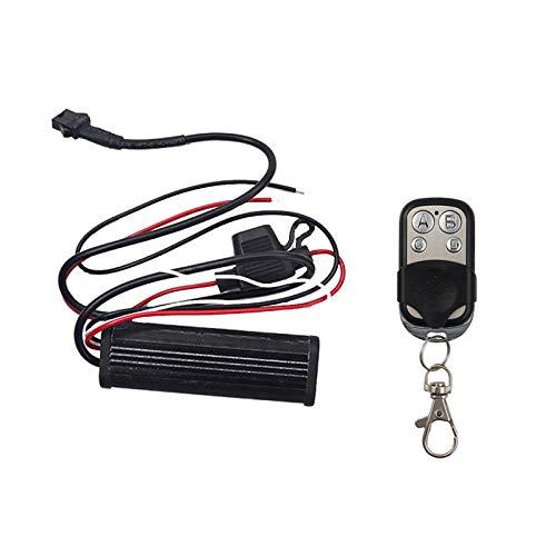 NBWDY - Controlador LED de 4 teclas para LED de color RGB con un canal con 15 colores