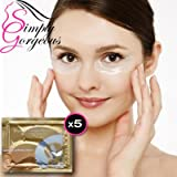 Collagen Crystal Eye Mask Patch Pad Anti Wrinkle Moisture - 5 Pairs