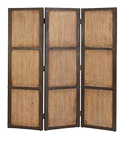 Deco 79 69157 Wood Screen for Decorative Protection, 48-Inch