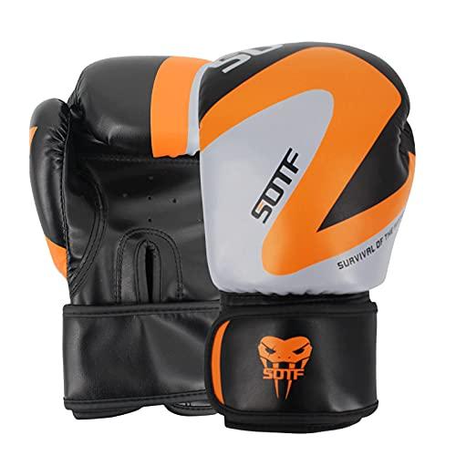 Boxhandschuhe MMA Erwachsene Kinderhandschuhe Kostenloser Kampf Sanda Kampfwettbewerb Training Herren- und Damenhandschuhe Style 1-12oz