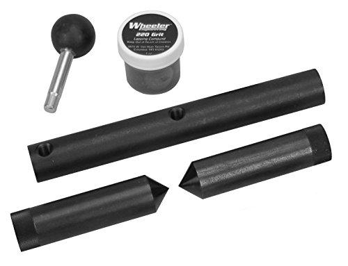Wheeler Scope Ring Alignment and Lapping Kit 34mm Rings for Pistol Rifle Handgun Gunsmithing Rebuild and Maintenance