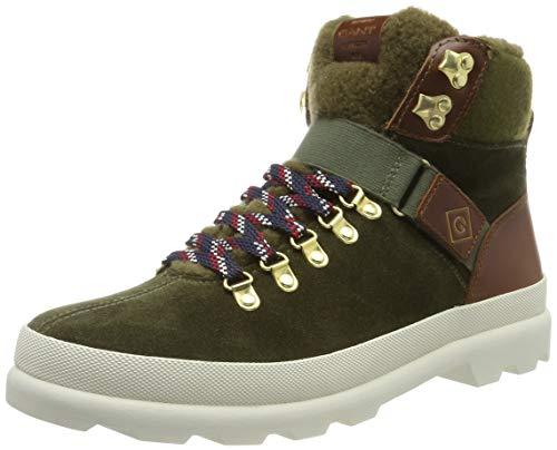 GANT Footwear Damen Westport Stiefeletten, Grün (Dark Olive G710), 37 EU