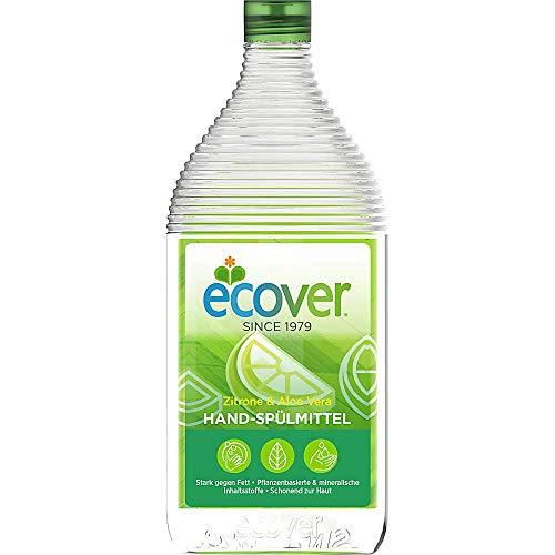 Ecover Lavavajillas Limón de mano y Aloe Vera, dermatológicamente Probado