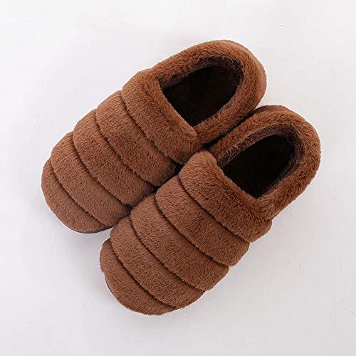 B/H Zapatillas De Estar por Casa para Mujer,Zapatos caseros de algodón en...