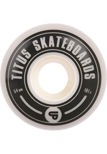 TITUS Classic 101A, White, 53mm, Skateboard Rollen, Wheels, Unisex