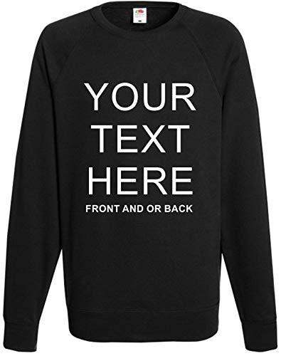 Sudadera personalizada para hombre   cualquier nombre texto y logotipo personalizado sudadera para ropa de trabajo, casual, uniforme   sudadera unisex   camisetas personalizadas para hombre y mujer