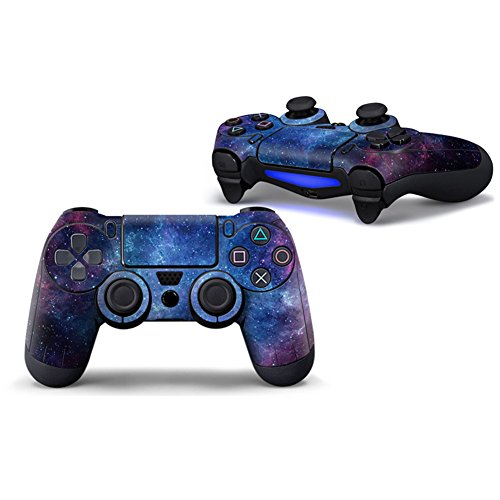 Morbuy PS4 Controller Skin Diseñador Piel Pegatina para Sony Playstation 4 PS4 Slim PS4 Pro DualShock Mando inalámbrico x 1 (Sky Deep Blue)