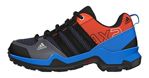 adidas Jungen Ax2 CP K Fitnessschuhe, Blauer Onyx schwarz Chiart, 33 EU