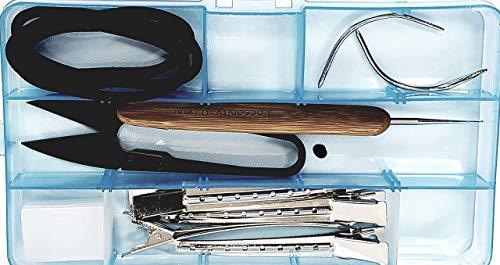 Locsanity Hair Lock Tool KIT - Dreadlocks Sisterlocks Crochet Microlocks Interlock Dreads Loc Tool Kit