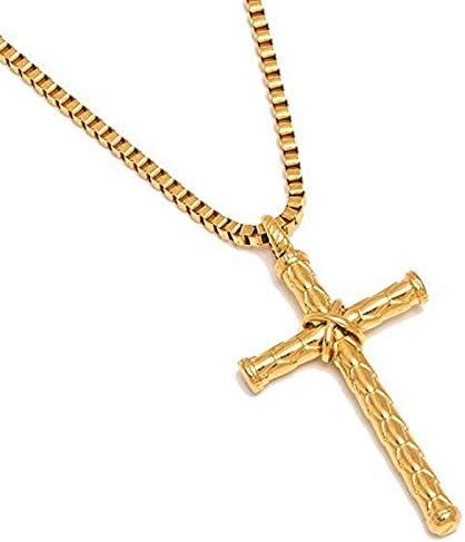 Color Cross Necklaces Pendants Collars For Women Men Accessories Jewelry