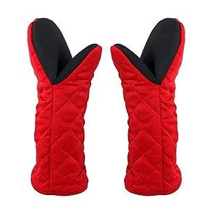 耐熱グローブ 電子レンジ ロングタイプ オーブンミトン 耐熱手袋 2個セット 3〜5労働日に配送済み