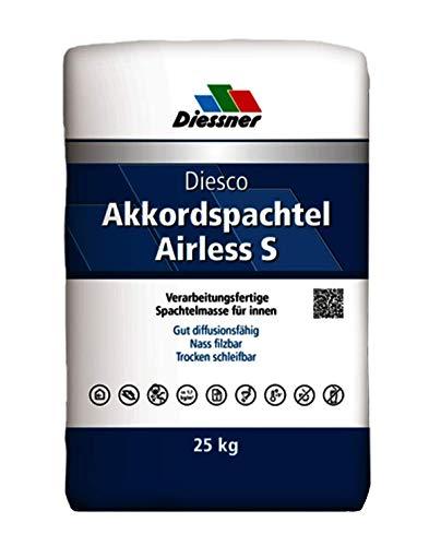 Diessner Diesco Akkord Füllspachtel Airless 25 kg Sack Spachtel Spachtelmasse