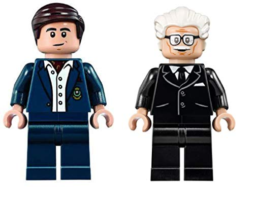 LEGO Superheroes - Bruce Wayne and Alfred Minfigs