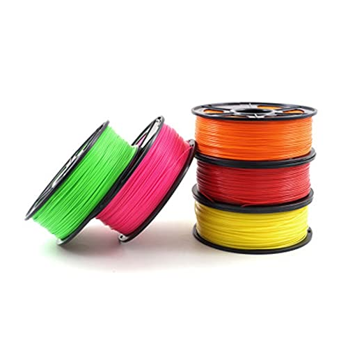 BUSUANZ Flying Bear PLA Materials 1.75mm for 3D Printer 1kg Environmental Consumable 3D Material (Color : Gray)
