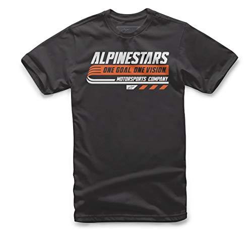 Alpinestar Bravo tee Camiseta de inspiración Deportiva, Hombre, Black, S