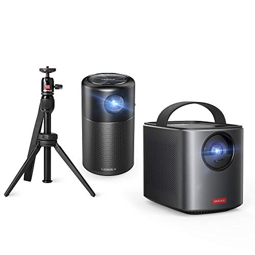 100 ANSI Lm 480P LCD Multimedia Projector, Nebula Prizm by Anker, with 5W Speaker, HDMI and USB Compatibility for Movies, Videos, Pictures, Music, and More