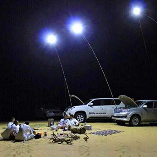 Liquidación! WATOPI - Barra de luces LED telescópicas COB para coche, resistente al agua, 2 modos, para pesca, camping, senderismo, barbacoa