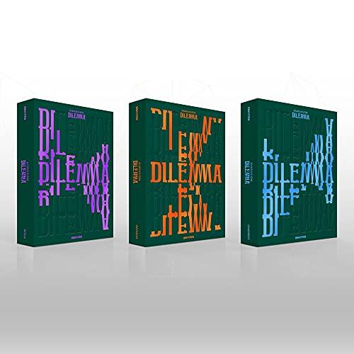 ENHYPEN - Dimensión: álbum de DILEMMA, beneficio de prepedido, póster plegado, juego de tarjetas de fotos adicionales (ODYSSEUS ver.)